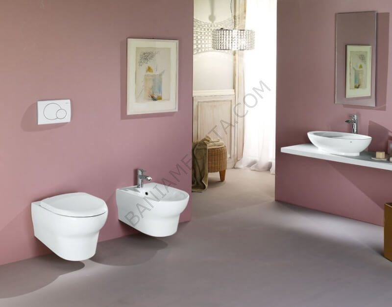 Предимствата на висящата тоалетна чиния