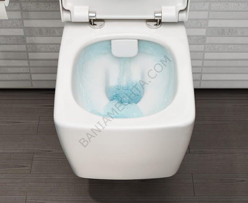 Тоалетните с RIMLESS