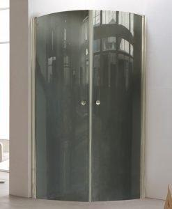 Душ кабина тонирано стъкло 90*90 овал 109RG