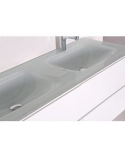 Двоен PVC шкаф за баня 12055