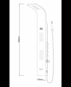 Хидромасажен панел модел 3022W