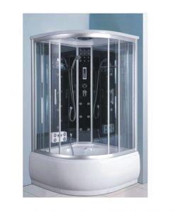 Хидромасажна душ кабина с парогенератор КАРИНА 2584S