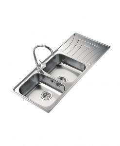 Кухненска мивка Teka UNIVERSO 116 2C 1E