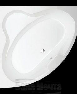Ъглова вана НИЦА с размер 120*120,130*130 и 140*140см.