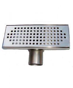 Подов сифон за баня квадрат 20см