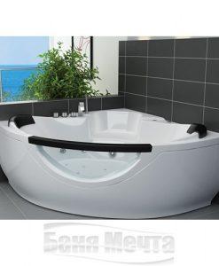 Ъглова хидромасажна вана модел Амстердам 145*145см.