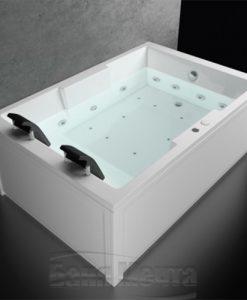 Хидромасажна вана модел Атина 180*120см.