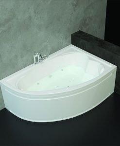 Хидромасажна асиметрична вана модел Оникс