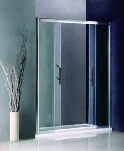 Стъклен преграден параван за баня 150-20