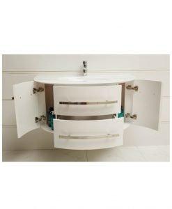 PVC Шкаф за баня ICP 11053 White