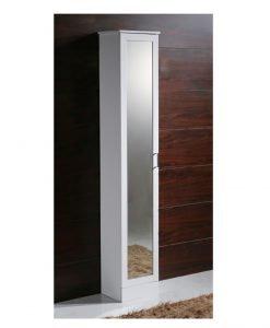 PVC колона за баня с огледална врата 3530-2
