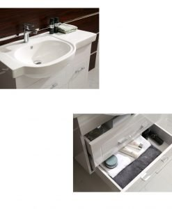PVC мебел за баня 9023 Джени