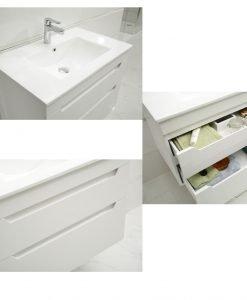 PVC шкаф за баня МЕЛАНИ ICP 7655