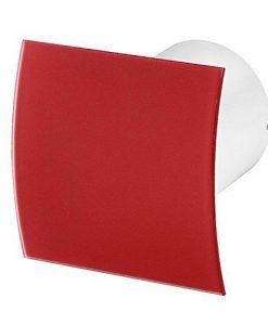 Вентилатор за баня червено огънато стъкло гланц Awenta KW100