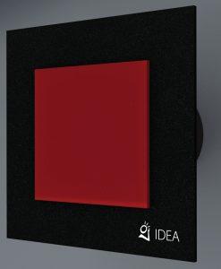 ВЕНТИЛАТОР DOUBLE BLACK STARLIGHT RED BLACK  K-0337+3004