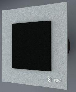 ВЕНТИЛАТОР DOUBLE GREY BLACK K-9007+0337