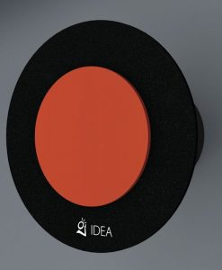 ВЕНТИЛАТОР DOUBLE OVAL BLACK ORANGE O-0337-2001