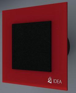 ВЕНТИЛАТОР DOUBLE RED BLACK/BLACK STARLIGHT K-3004+0337