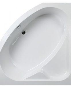 Ъглова хидромасажна вана ЕМОНА 130*130