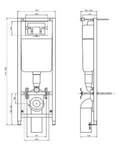 Структура за вграждане W3705