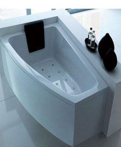 Асиметрична хидромасажна вана модел Прага 160*90см.