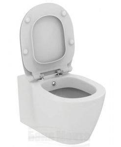 Конзолна тоалетна Ideal Standard CONNECT с бидетна арматура E7721