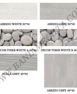 Плочки за баня серия AREZZO GREY
