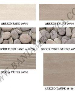 Плочки за баня серия AREZZO TAUPE