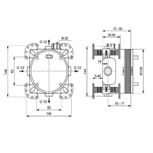 EASY-BOX A1000NU размери