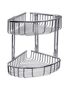 Етажерка двойна с две дълбоки кошнички KAPITAN K963888