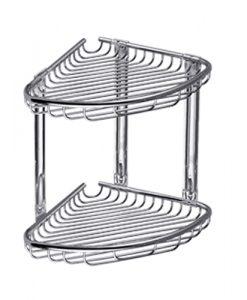 Етажерка двойна с две плитки кошнички KAPITAN K963777