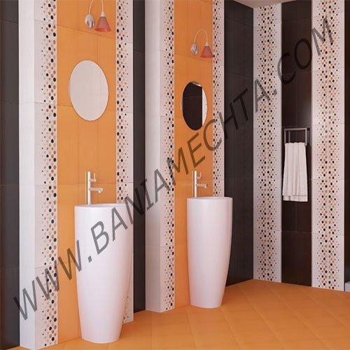 Плочки за баня серия DOMENICO ORANGE