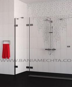 Плочки за баня Saba rojo and negro