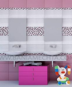 Плочки за баня Soho fuscia and lila
