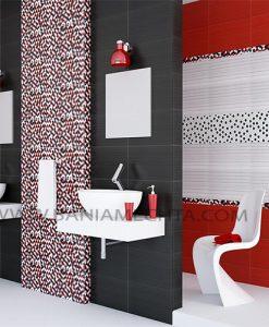 Плочки за баня Soho rojo and negro
