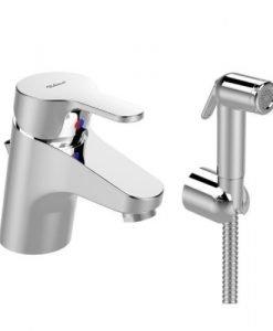 Смесител стоящ за умивалник с хигиенен душ VIDIMA JOY B0466AA