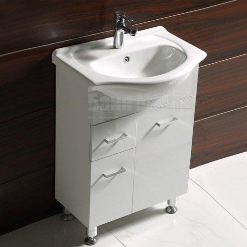 Комплект PVC шкаф за баня КАПРИ Д 50 ICP 5037