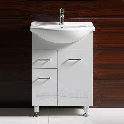 Комплект PVC шкаф за баня КАПРИ Д 50 ICP 5037_2