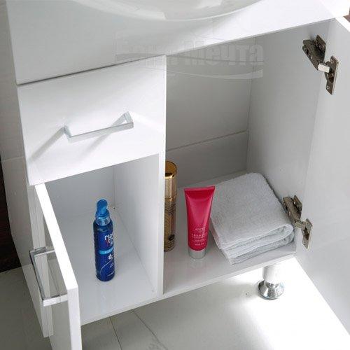 Комплект PVC шкаф за баня КАПРИ Д 50 ICP 5037_5