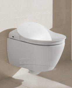 Окачена тоалетна с дъска биде с дистанционно управление VILLEROY & BOCH ViClean