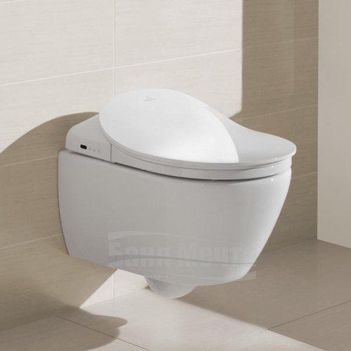 Окачена тоалетна с дъска биде с дистанционно управление VILLEROY & BOCH ViClean_1