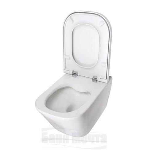 Окачена тоалетна с капак със забавено падане THE GAP А34647L000_2