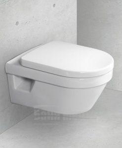 Окачена тоалетна VILLEROY & BOCH Omnia Architectura с капак със забавено падане