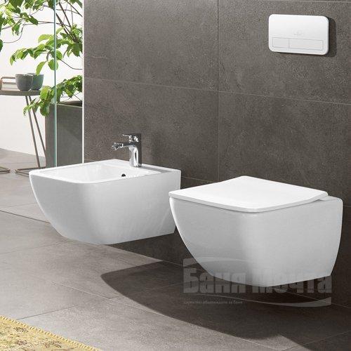 Окачена тоалетна VILLEROY & BOCH Venticello DirectFlush с капак със забавено падане_3