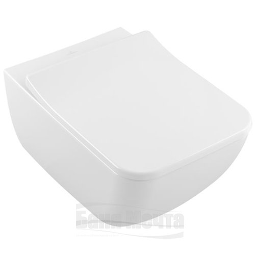 Окачена тоалетна VILLEROY & BOCH Venticello DirectFlush с капак със забавено падане_4
