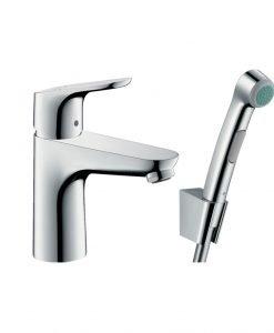 Смесител за мивка с подвижен душ HANSGROHE FOCUS 100 31927000