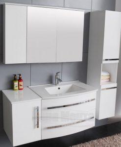 Комплект PVC шкаф за баня ICP 11052