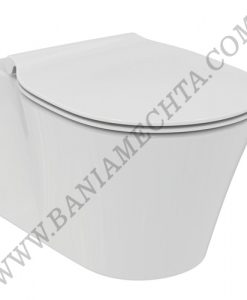 Конзолна тоалетна чиния без ринг със седалка с плавно затваряне CONNECT AIR
