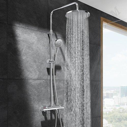 Едноръкохваткова душ колона с полица EVEN M A5A9790C00_4