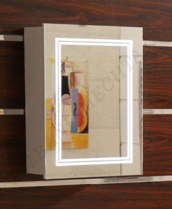 Огледален PVC шкаф за баня ICMC 5015 50